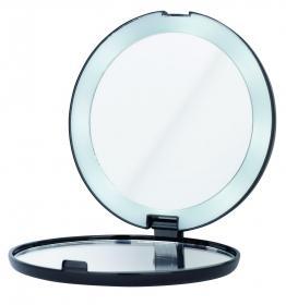 ERBE Kosmetik LED Spiegel schwarz