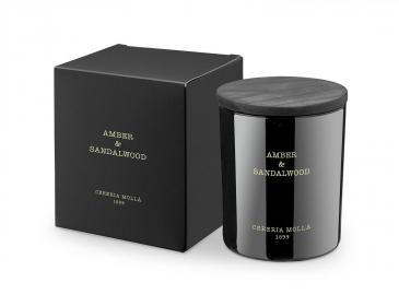 Premium Kerze Amber & Sandalwood