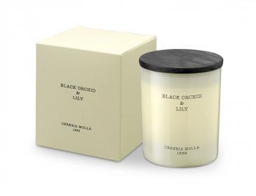 Premium Kerze Black Orchid & Lily