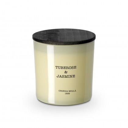 XL Kerze Tuberose & Jasmine